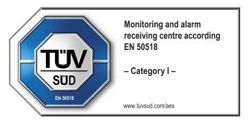 VNC PROSIGNAL – skladen s standardom SIST EN 50518-2019